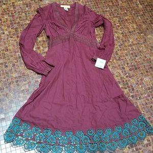 New with tags Catherine malandrino burdeaux dress